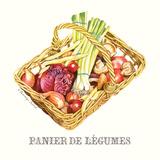 Panier de Legumes Art by Gwendolyn Babbitt