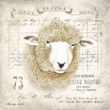 French Sheep Posters by Gwendolyn Babbitt