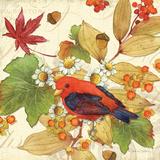 Flora & Tanager II Affiches par Julie Paton