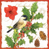 Holiday Birds I Prints by Julie Paton