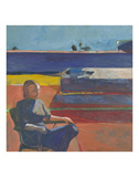 Woman on a Porch, 1958 Prints by Richard Diebenkorn