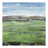 Verdent Vista I *Exclusive* Giclee Print by Julie Silver