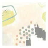 Julie Silver - Thinking in Circles II *Exclusive* Digitálně vytištěná reprodukce