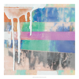 Vibrant Paint Drip I *Exclusive* Giclee Print by Julie Silver