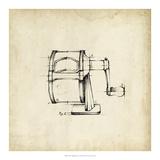 Julie Silver - Office Supply Sketch I *Exclusive* Digitálně vytištěná reprodukce