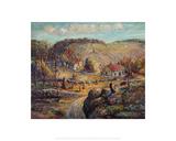 Radford Farm Giclee Print by Ernest Lawson