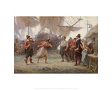 Abduction of Pocahontas Giclee Print by Jean Leon Gerome Ferris