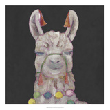 Noble Llama I *Exclusive* Giclee Print by Julie Silver