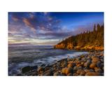 Sunrise on Otter Cliffs 4 Prints by Robert Lott