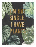 Plant Gold V *Exclusive* Giclee Print by Julie Silver
