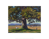 Child Under Tree Giclee Print by Rockwell Kent