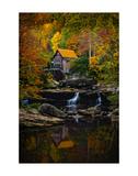 Glade Creek Mill Poster von Robert Lott