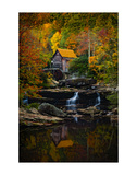 Glade Creek Mill Posters by Robert Lott