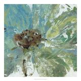 Julie Silver - Water Floral I *Exclusive* Digitálně vytištěná reprodukce
