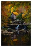 Glade Creek Mill Prints by Robert Lott