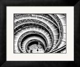 Spiral Staircase Framed Photographic Print by Andrea Costantini