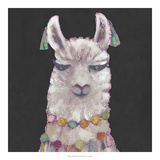 Noble Llama II *Exclusive* Giclee Print by Julie Silver