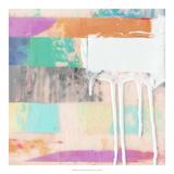 Julie Silver - Vibrant Paint Drip II *Exclusive* Digitálně vytištěná reprodukce
