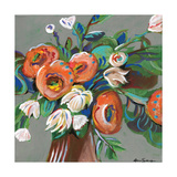 Floral Arangement 2 Print by Anne Seay