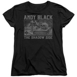 Womans: Andy Black- Raised Eyebrow Gothic Shirts