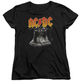 Womens: AC/DC- Hell'S Bells Emblem Shirt