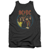 Tank Top: AC/DC- Highway To Hell Medallion Tank Top
