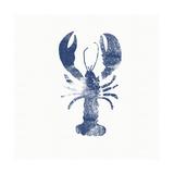 Blue Lobster Prints by Linda Woods