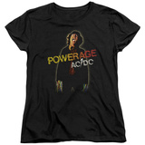 Womens: AC/DC- Powerage Shockage T-Shirt