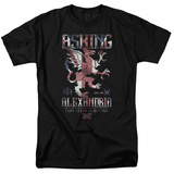 Asking Alexandria- Death To Destiny Crest T-shirts