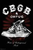 CBGB- Kickin Sneakers Print