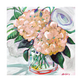 Hydrangeas Poster by Anne Seay