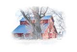 Red Barn Art by Romona Murdock