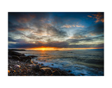 Sunrise on Boulder Beach Prints by Robert Lott