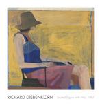 Seated Figure with Hat, 1967 Pôsters por Richard Diebenkorn