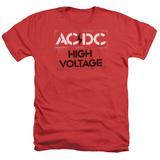 AC/DC- High Voltage Stencil T-shirts