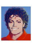 Michael Jackson, 1984 Print by Andy Warhol