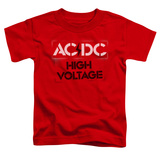 Toddler: AC/DC- High Voltage Stencil T-Shirt