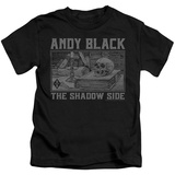 Juvenile: Andy Black- Raised Eyebrow Gothic T-shirts