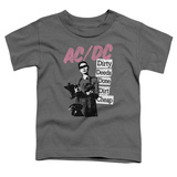 Toddler: AC/DC- Dirty Deeds Stacked Signboards T-shirts