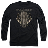 Long Sleeve: Black Veil Brides- Casket Roses Shirt