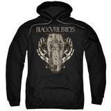 Hoodie: Black Veil Brides- Casket Roses Pullover Hoodie