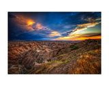 Badlands after Storm 3 Prints by Robert Lott