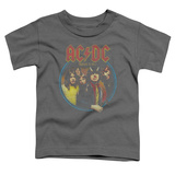 Toddler: AC/DC- Highway To Hell Medallion T-Shirt