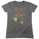 Womans: AC/DC- Highway To Hell Medallion T-shirts