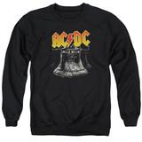 Crewneck Sweatshirt: AC/DC- Hell'S Bells Emblem T-shirts