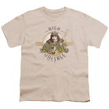 Youth: AC/DC- High Voltage Faded Patch Shirts
