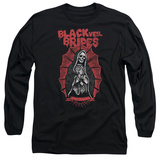 Long Sleeve: Black Veil Brides- Santa Muerte T-Shirt