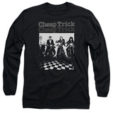 Long Sleeve: Cheap Trick- Motor On T-shirts