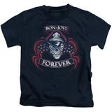 Juvenile: Bon Jovi- Forever Distressed T-shirts