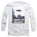 Long Sleeve: X Files- Believe Poster T-Shirt